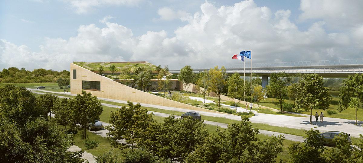 La future sous-préfecture de Palaiseau sera intégrée au paysage