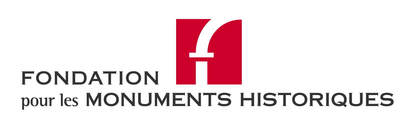 Logo-fondation pour les monuments historiques