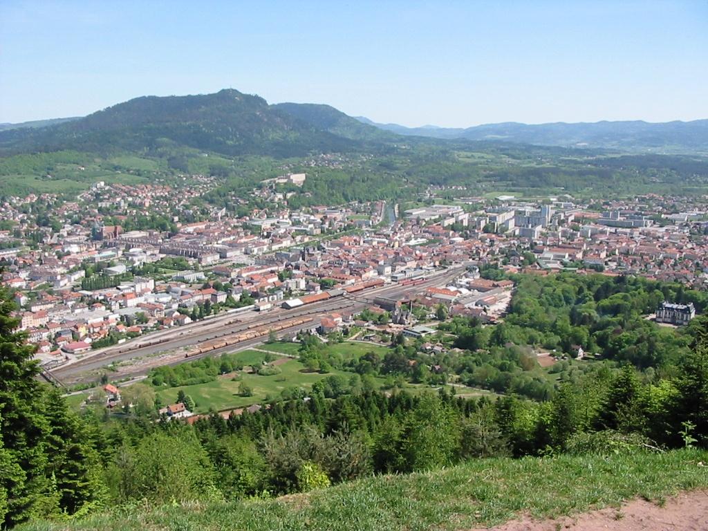 Le centre ville de Saint-Dié-des-Vosges : Site patrimonial remarquable
