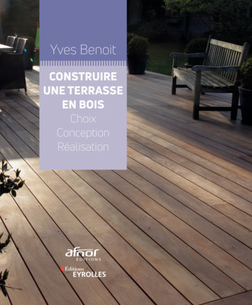 Livre : Construire une terrasse en bois, Yves BENOIT
