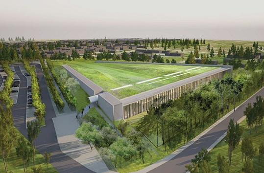 Le chantier du centre de conservation du musée du Louvre avance