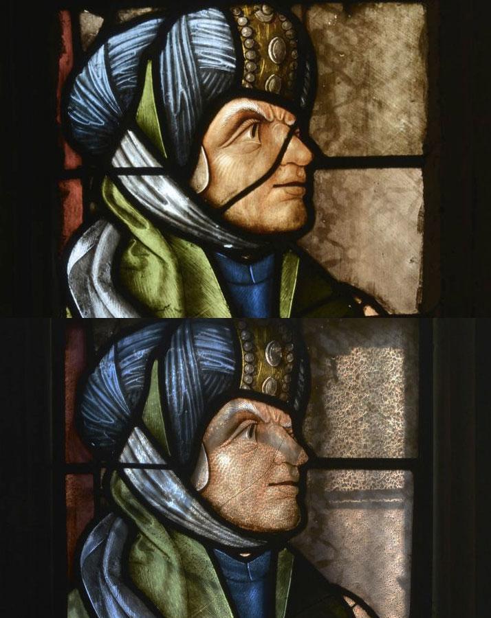 Les vitraux d'Arnaut de Moles restaurés à Auch