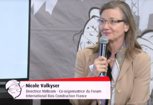 Interview de Nicole Valkyser Bergmann, Co-organisatrice du Forum Bois Construction France