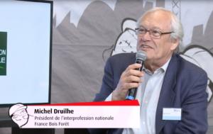 Forum Bois Construction 2019 : Interview de Michel Druilhe, Président de France Bois Forêt