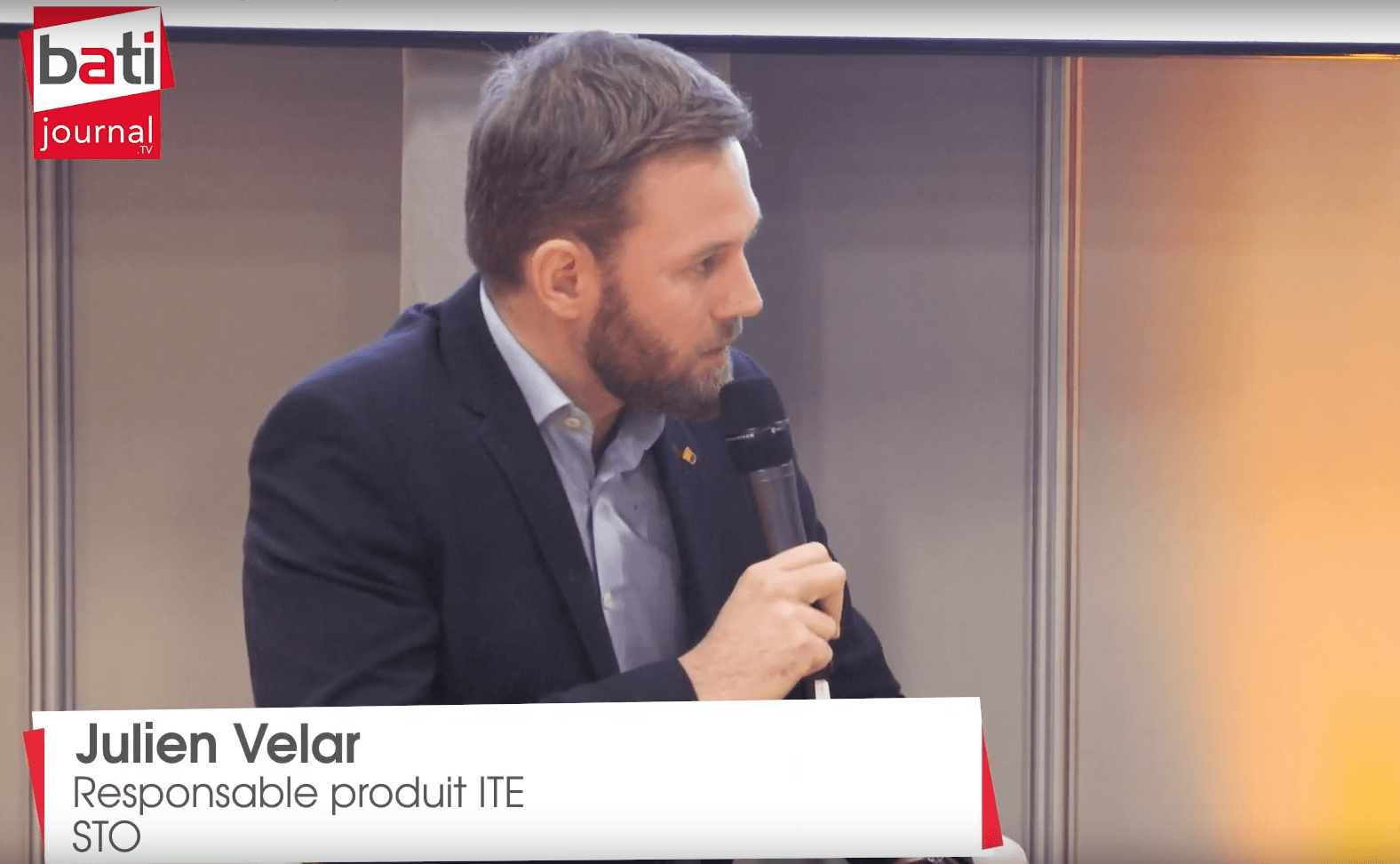 Rencontre avec Julien Velar, Responsable produit ITE chez STO