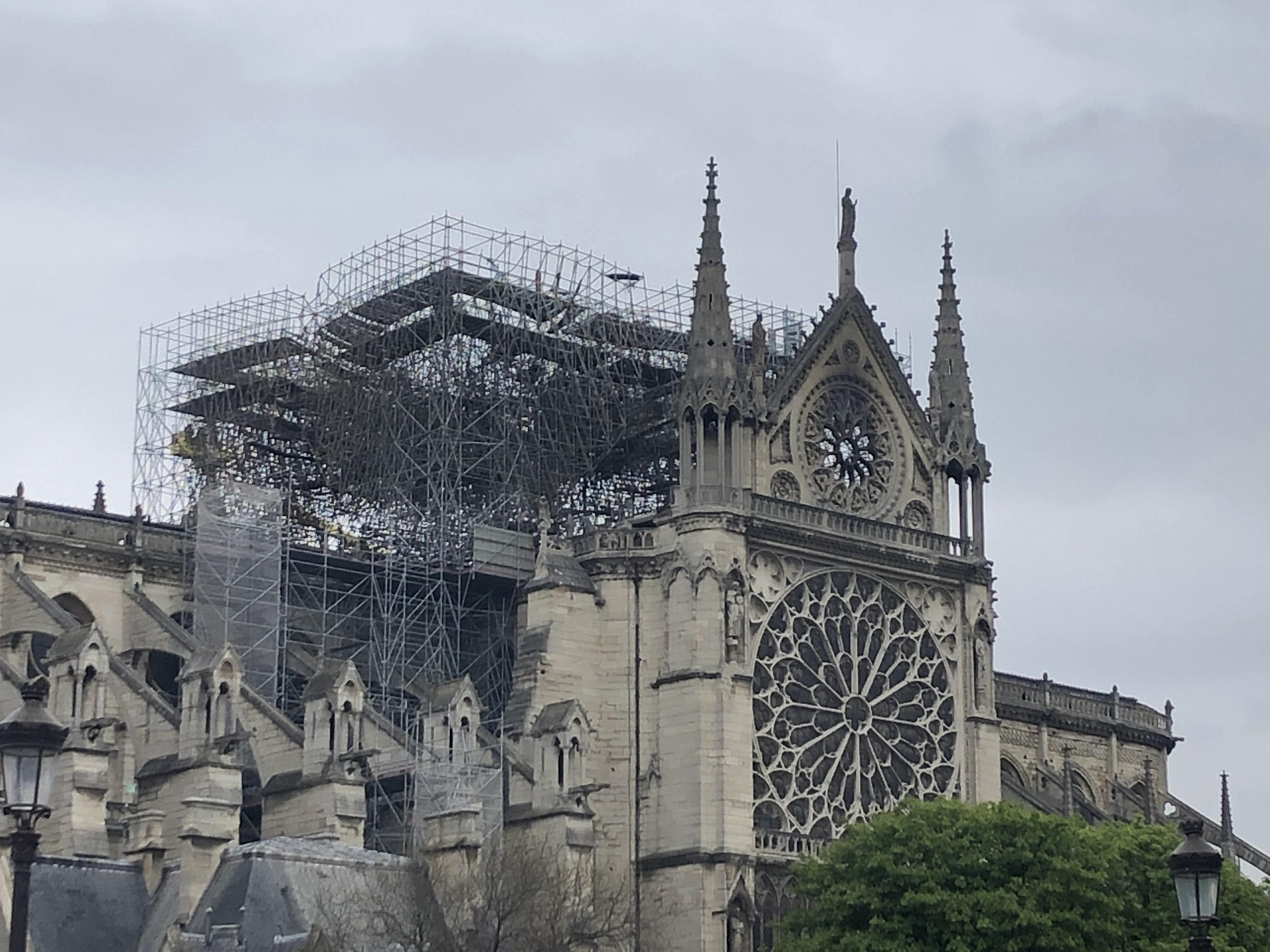 La filière bois au chevet de Notre-Dame de Paris