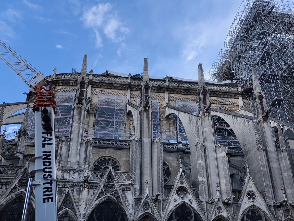 Enquête et diagnostics toujours en cours pour Notre-Dame de Paris