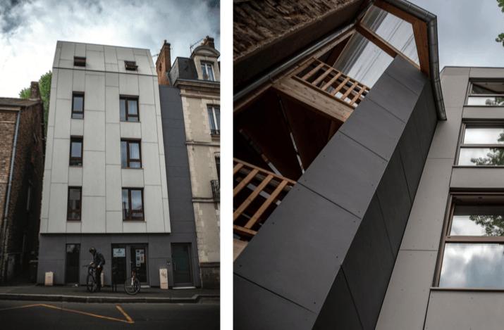 Trophées du Bâtiment Passif 2019, prix du logement collectif : le projet Janime