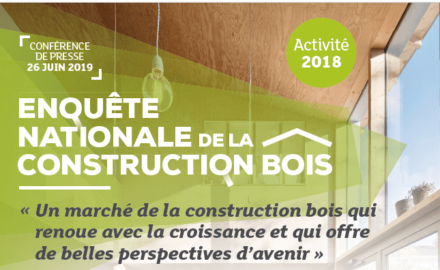 Enquete nationale de la construction bois - Resultats