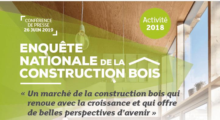 Enquête nationale de la Construction Bois – Activité 2018