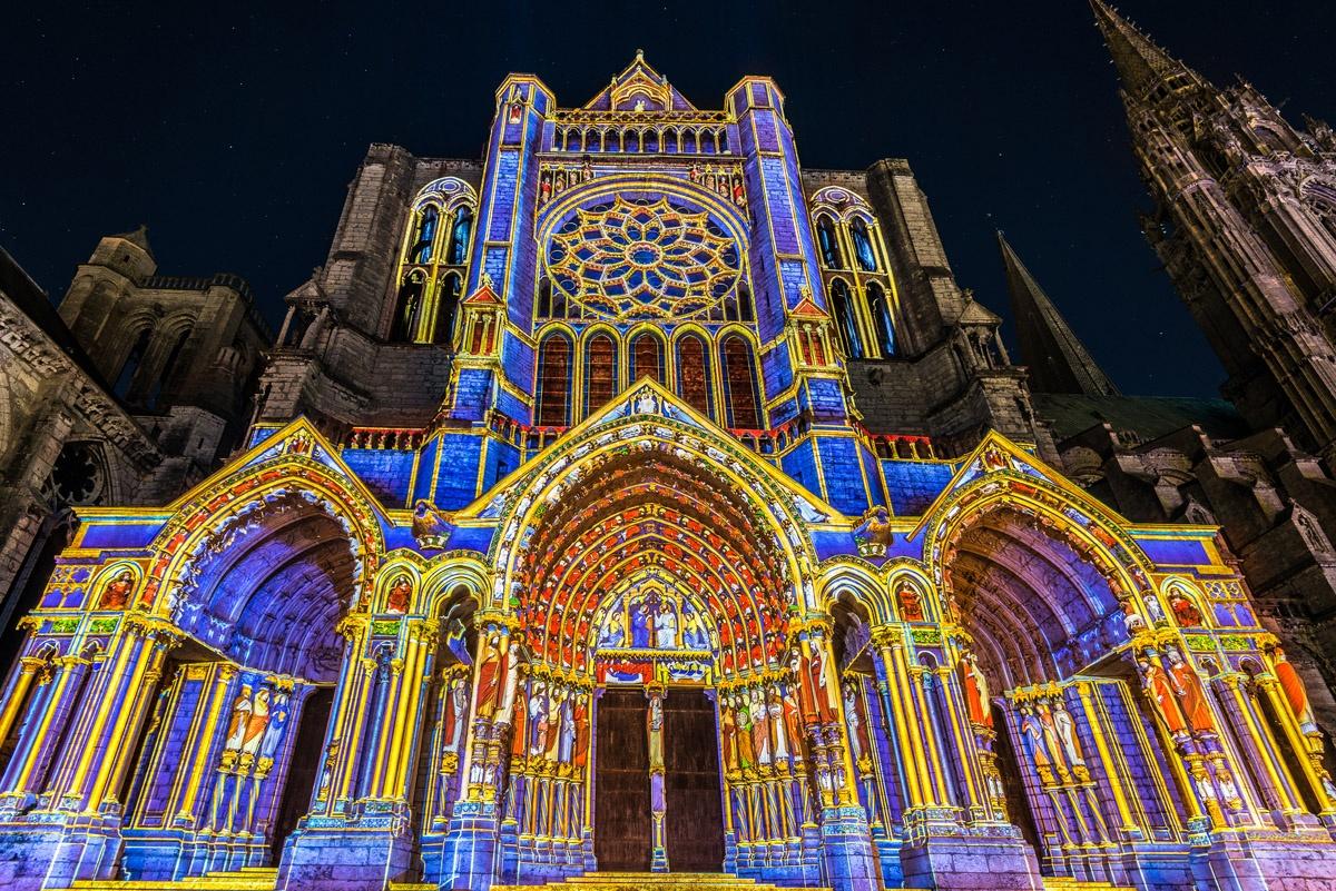 Chartres en lumières : 16ème édition de la manifestation d'art et de culture