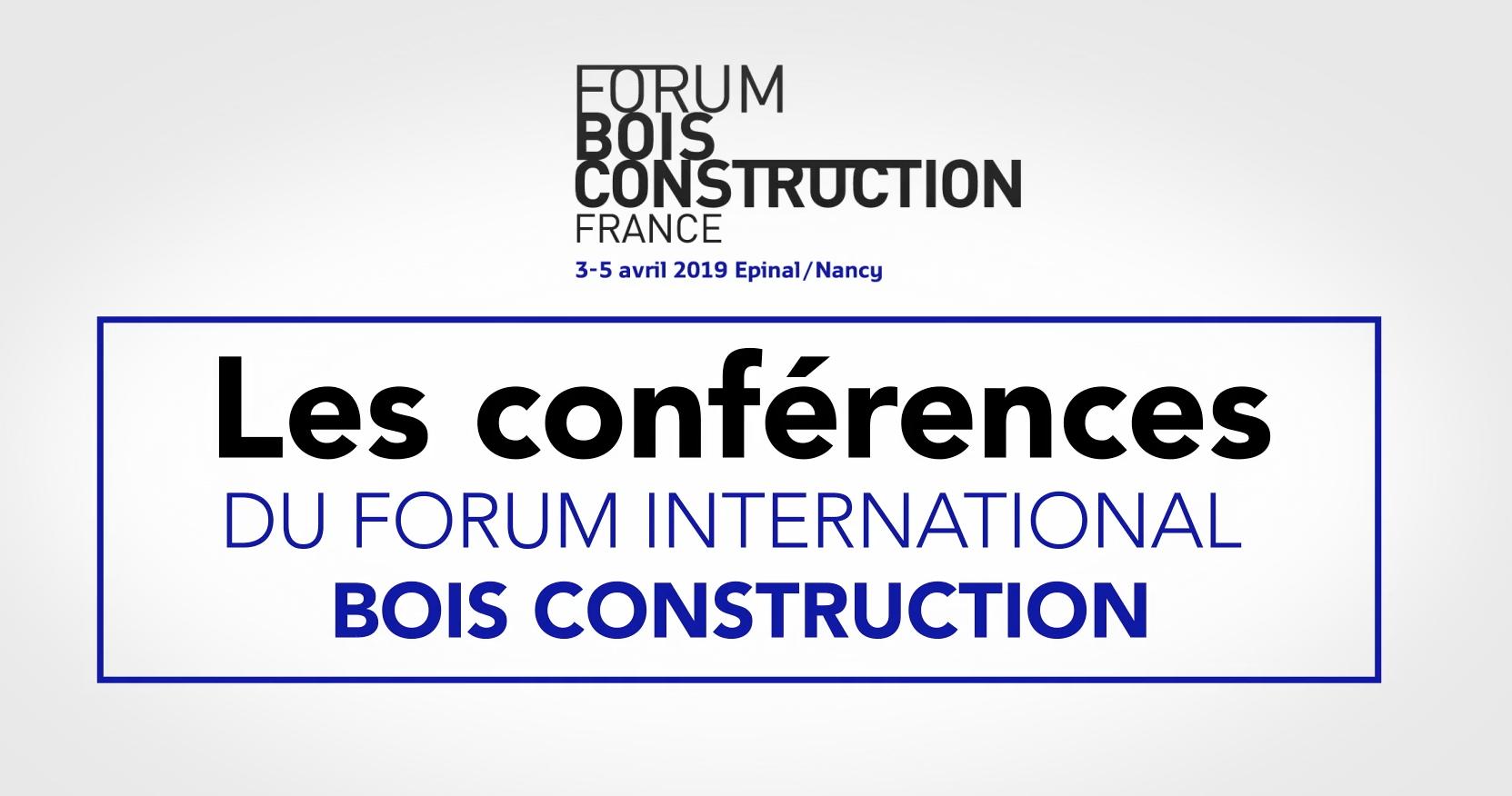 Forum Bois Construction 2019 en vidéo à la demande : un nouvel outil pédagogique
