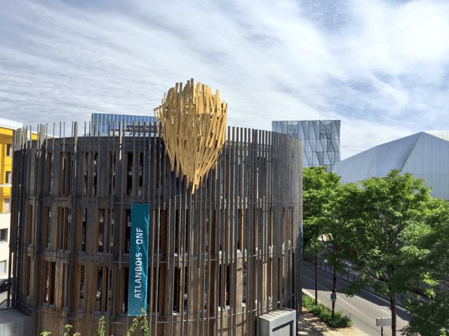 Atlanbois fête ses 30 ans, visitez leur projet emblématique : bâtiment B