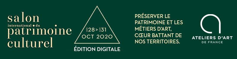 Le Salon International du Patrimoine Culturel sera numérique cette année