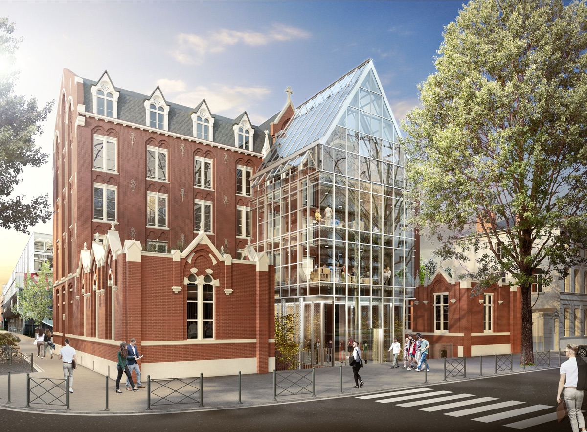 JUNIA entame la transformation de son campus à Lille